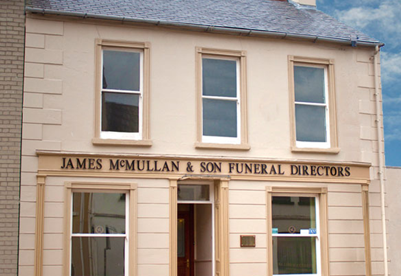 James McMullan & Son funeral home in Balleymoney