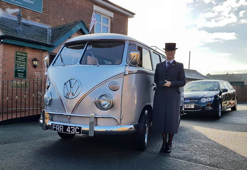 Murray's Funeral Directors VW campervan
